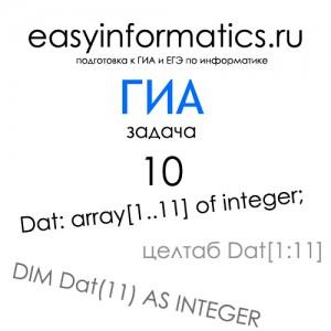 Подготовка к ГИА по информатике